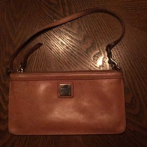 GUC DOONEY AND BOURKE LEATHER WRISTLET